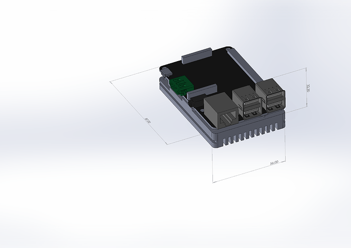 ROCK-Pi-4B-3D